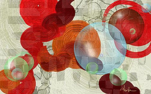Art: Passion Pathogen by Artist Alma Lee