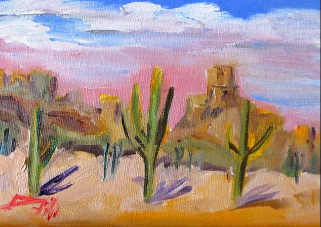 Art: Southwestern Landscape No. 2 by Artist Delilah Smith