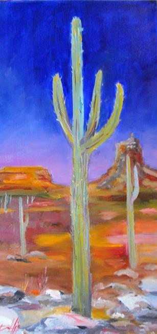 Art: Desert Evening by Artist Delilah Smith