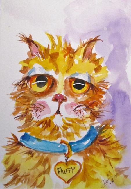 Art: Fluffy by Artist Delilah Smith