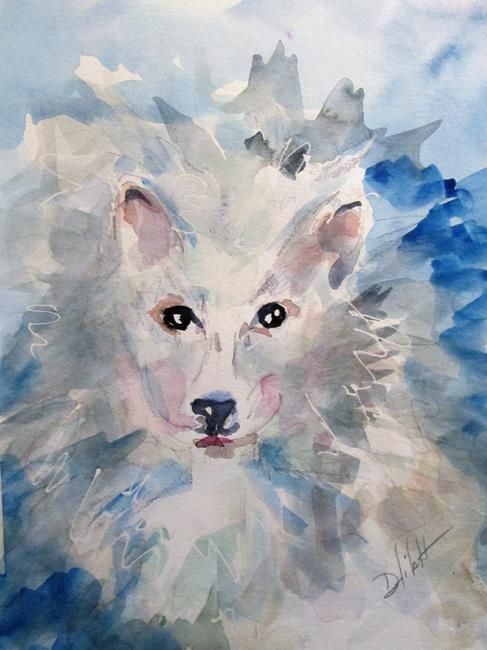 Art: Dog by Artist Delilah Smith