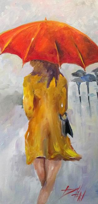 Art: Rainy Day No. 2 by Artist Delilah Smith