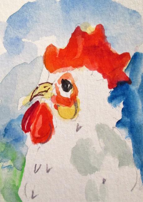 Art: Hen by Artist Delilah Smith