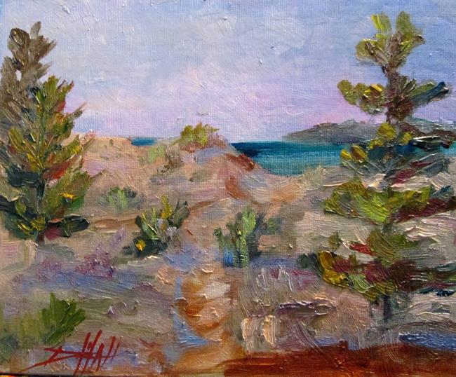 Art: Path to the Lake by Artist Delilah Smith
