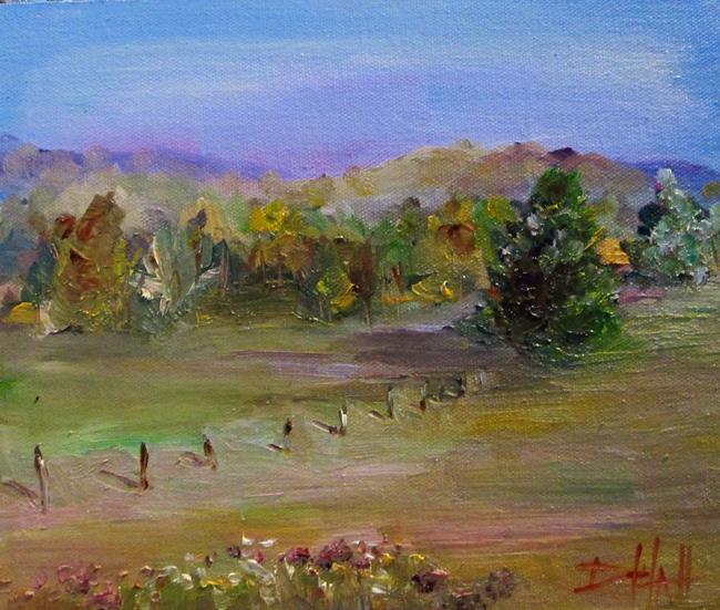Art: Field at Sleeping Bear by Artist Delilah Smith