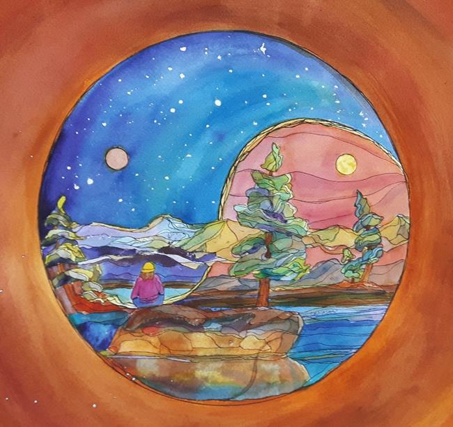 Art: Finding the Balance (PC) by Artist Kathy Crawshay