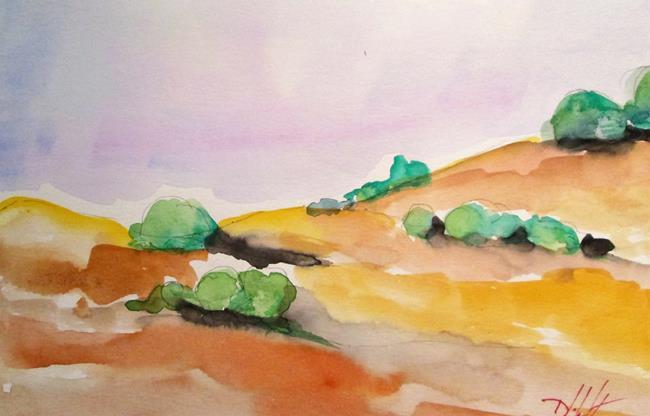 Art: California Landscape by Artist Delilah Smith