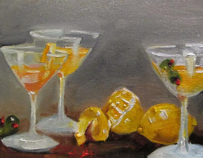 Art: Martinis by Artist Delilah Smith