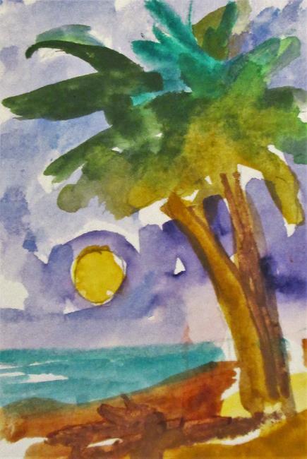 Art: Palm Treea by Artist Delilah Smith