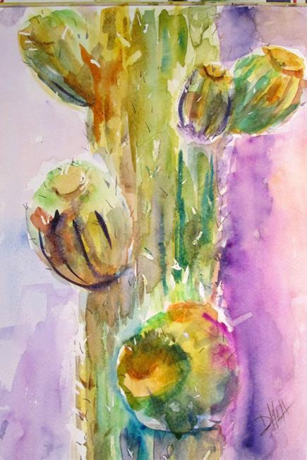 Art: Cactus by Artist Delilah Smith