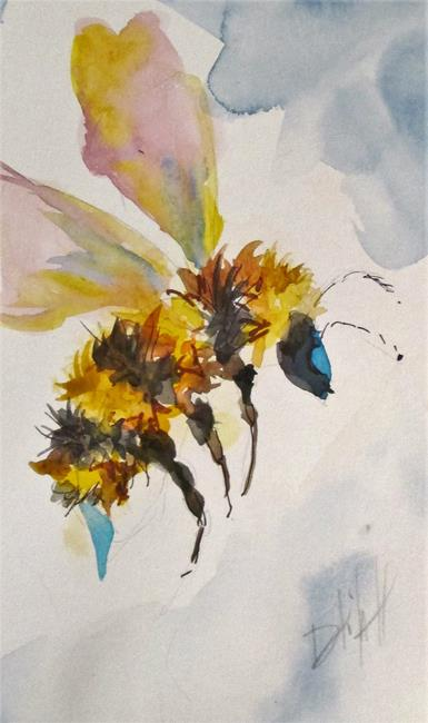 Art: Bee by Artist Delilah Smith