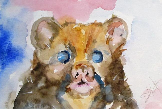 Art: Fuzzy Bear by Artist Delilah Smith