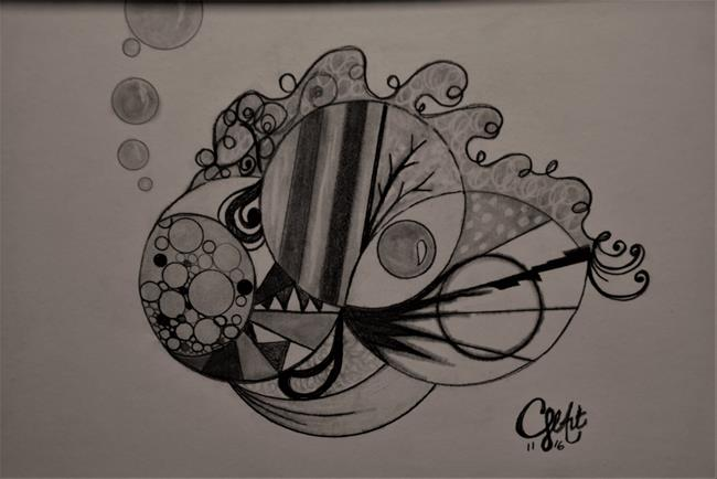 Art: #CherelleArt Funky Fish by Artist Cherelle Art