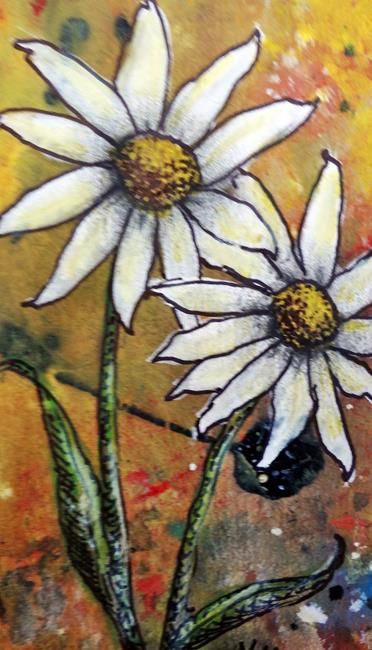 Art: Sign of Spring by Artist Vicky Helms