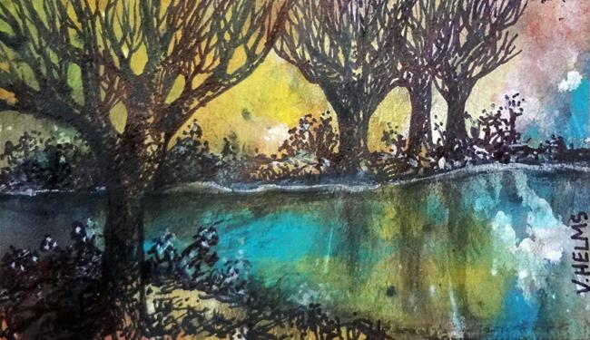 Art: Magic of Woods by Artist Vicky Helms