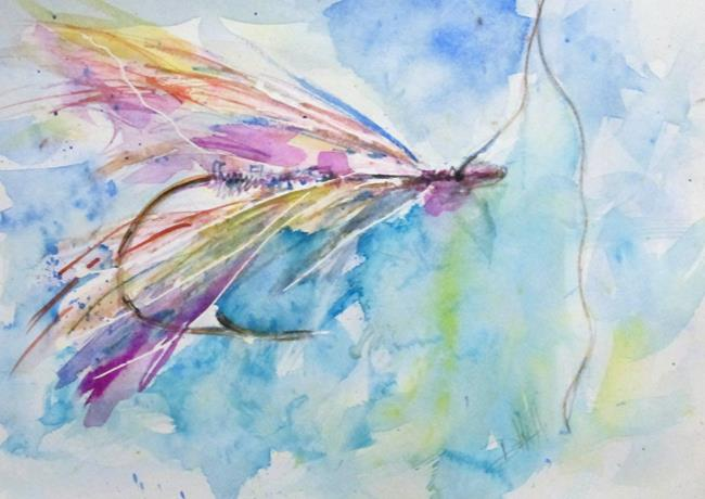 Art: Fishing Lure No. 5 by Artist Delilah Smith