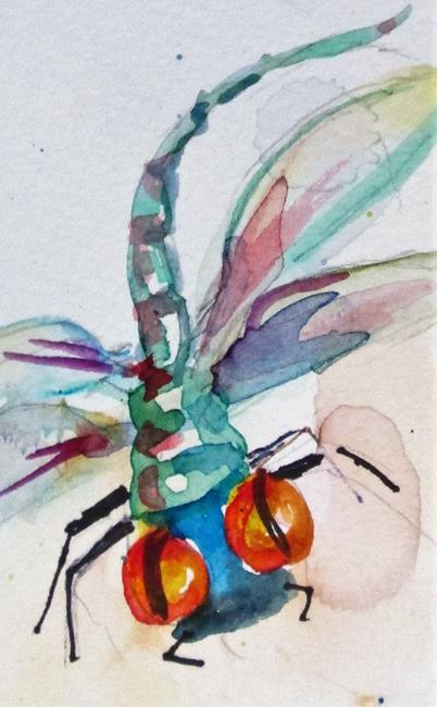 Art: Dragonfly No. 9 by Artist Delilah Smith