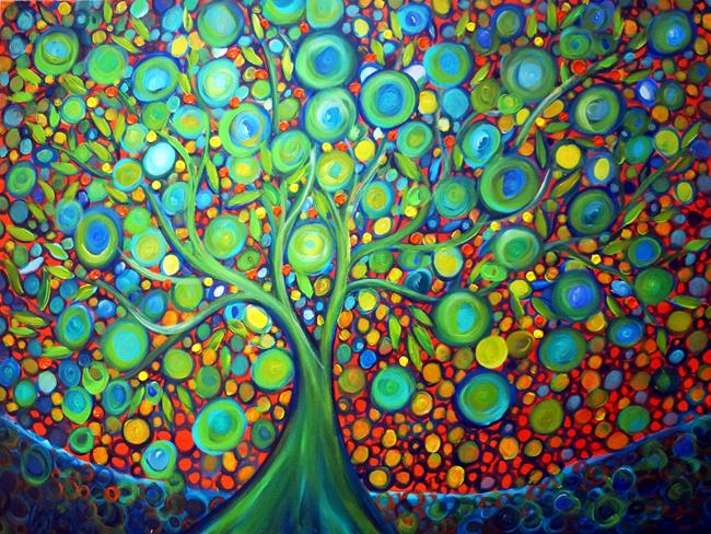 Art: LIME TREE by Artist LUIZA VIZOLI
