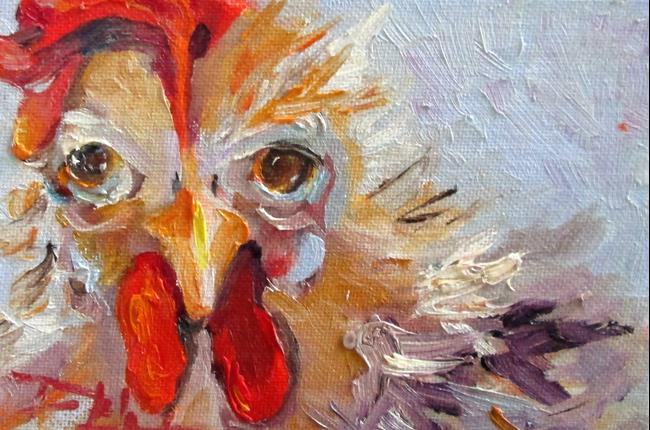 Art: Rooster No. 14 by Artist Delilah Smith