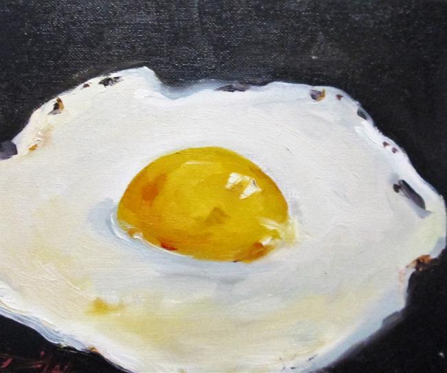 Art: Fried Egg by Artist Delilah Smith