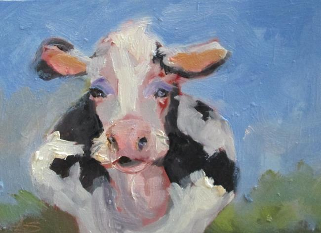 Art: Moo Cow No. 2 by Artist Delilah Smith