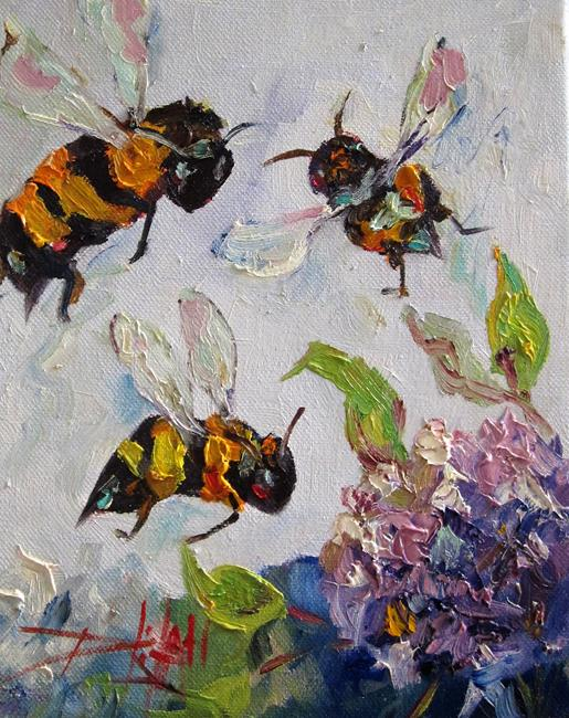 Art: Bees Knees No. 8 by Artist Delilah Smith