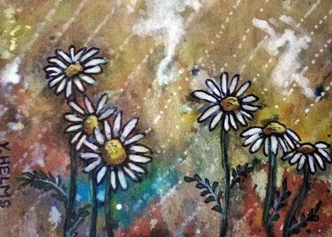 Art: The Freshness of Daisies by Artist Vicky Helms