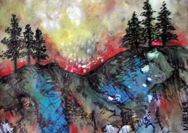 Art: Colorado is Calling by Artist Vicky Helms