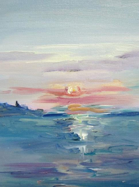 Art: Sunset No. 2 by Artist Delilah Smith