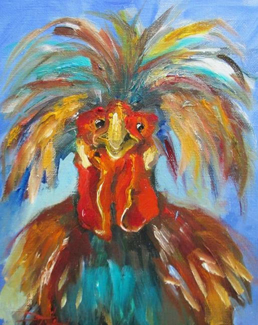 Art: Polish Chicken by Artist Delilah Smith