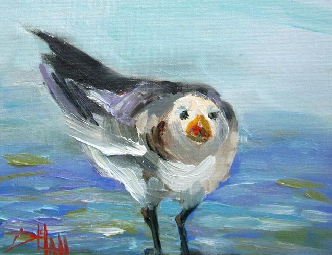 Art: Gull Cry by Artist Delilah Smith