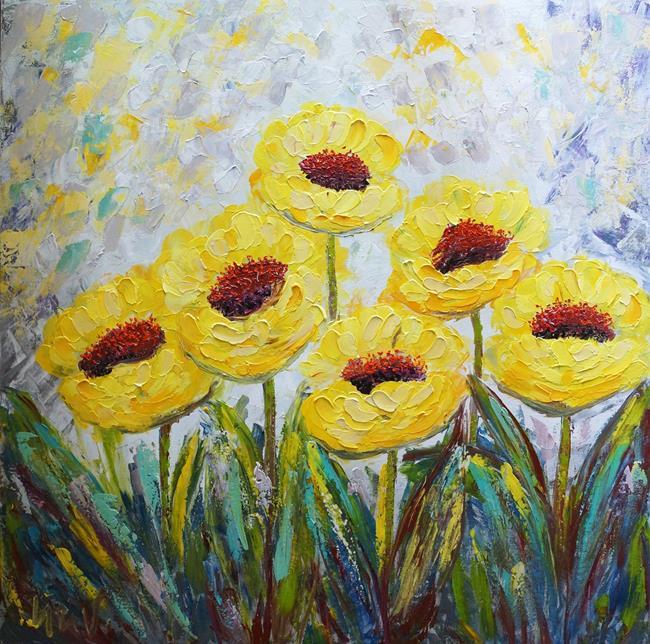 Art: Daffodils Spring by Artist LUIZA VIZOLI