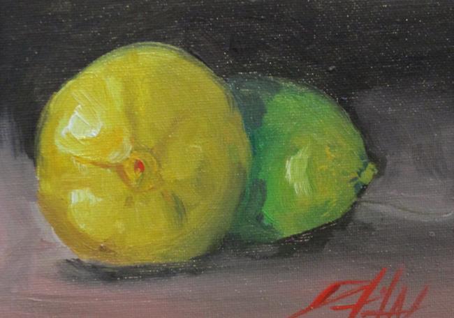 Art: Lemon and Lime by Artist Delilah Smith