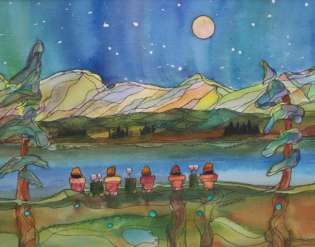 Art: Best Friends by Artist Kathy Crawshay