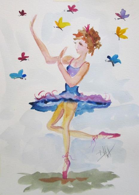 Art: Butterfly Dance by Artist Delilah Smith