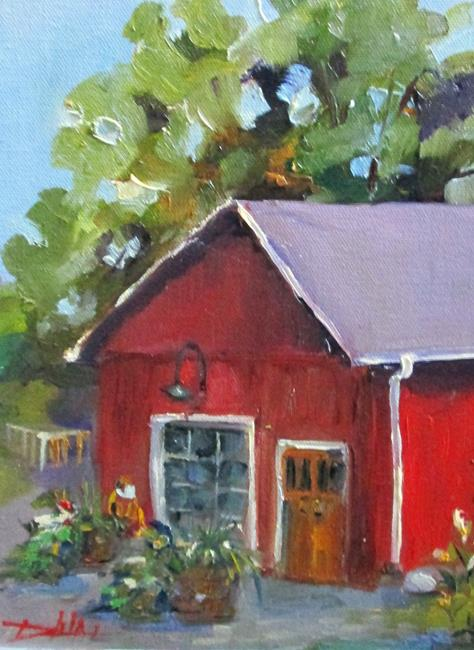 Art: Cider Mill by Artist Delilah Smith