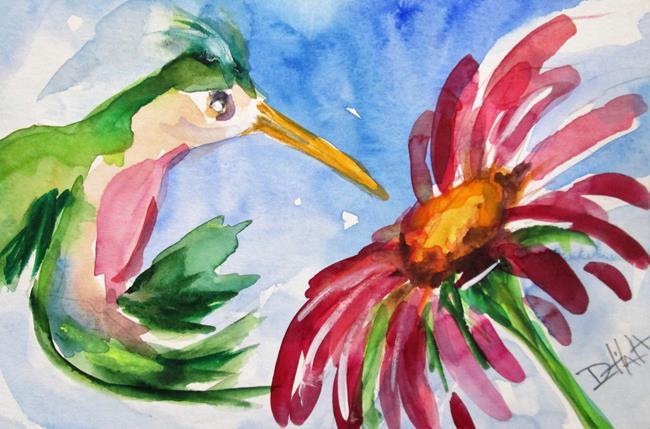 Art: Hummingbird No. 15 by Artist Delilah Smith