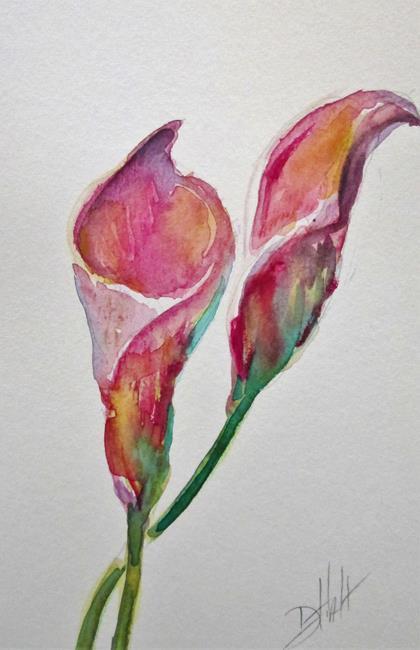 Art: Calla Lily No.2 by Artist Delilah Smith