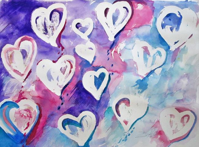 Art: Finding Love by Artist Delilah Smith