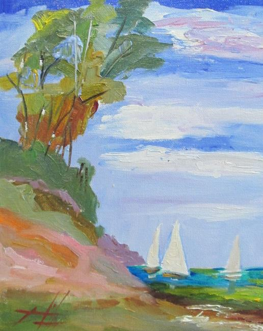 Art: Seascape No. 2 by Artist Delilah Smith