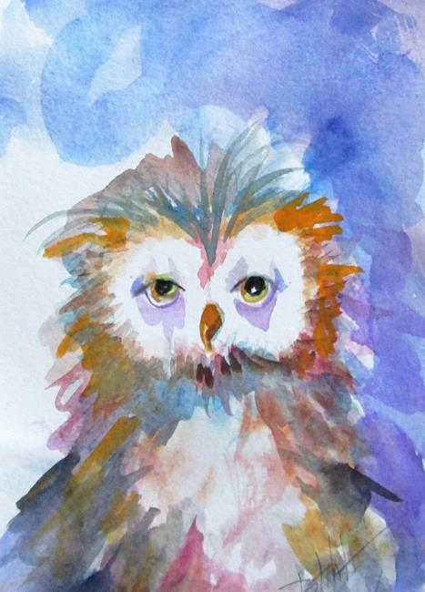 Art: Hootie by Artist Delilah Smith