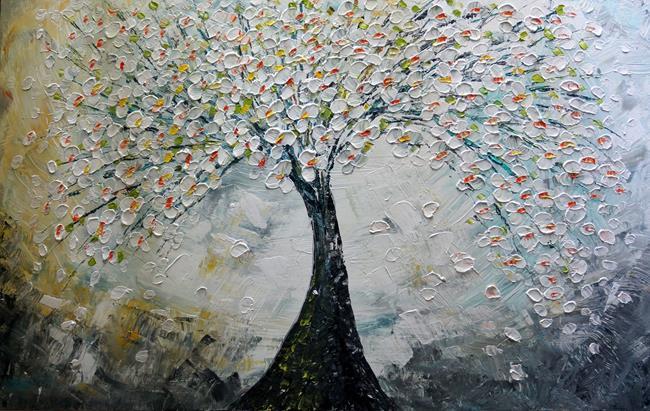 Art: CHERRY BLOSSOM by Artist LUIZA VIZOLI