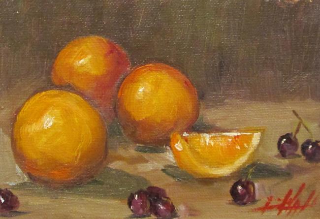 Art: Orange Still Life No. 5 by Artist Delilah Smith
