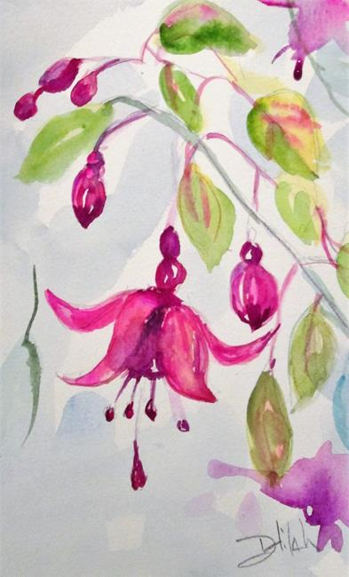 Art: Fuchsia by Artist Delilah Smith