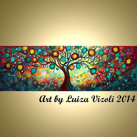 Art: Inner Journey by Artist LUIZA VIZOLI