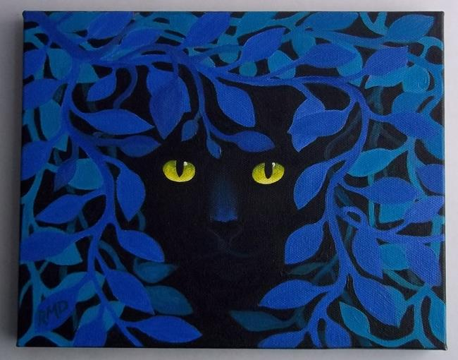 Art: NIGHT PROWLER by Artist Rosemary Margaret Daunis