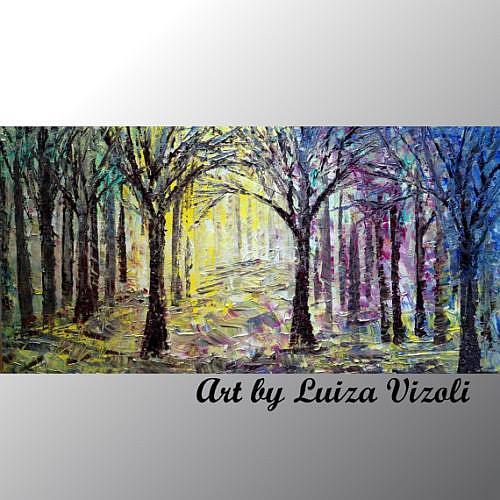 Art: SPRING by Artist LUIZA VIZOLI