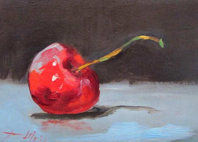 Art: Red Cherry by Artist Delilah Smith