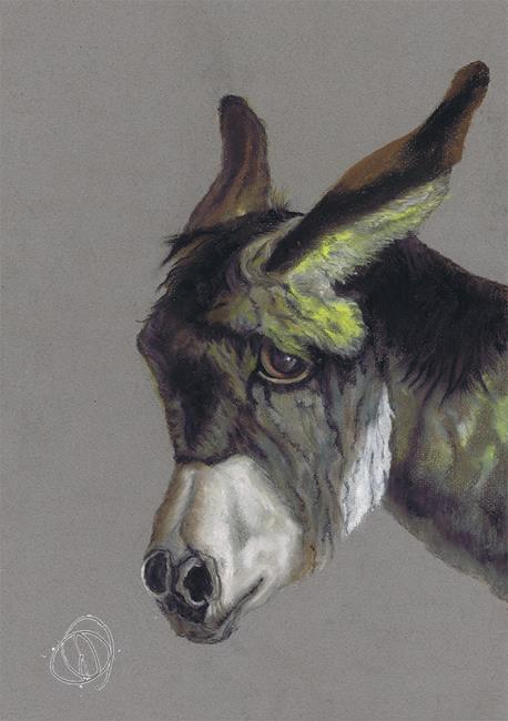 Art: DONKEY donk01 by Artist Dawn Barker