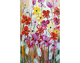 Art: TULIP SPRING FLOWERS by Artist LUIZA VIZOLI